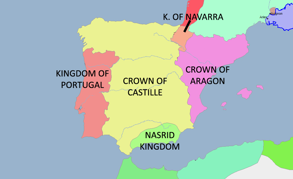 History of the Kingdom of Aragon - About History on bay of biscay map, viceroyalty of peru map, duchy of burgundy map, castile europe map, republic of florence map, united kingdom on world map, republic of venice map, duchy of brittany map, kingdom of castile in spain, republic of genoa map, kingdom of denmark map, kingdom of burgundy map,